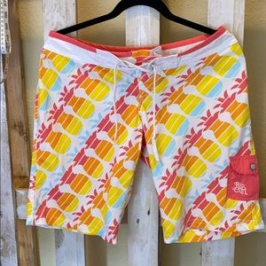 Rip Curl Pineapple Summer Swimming Shorts